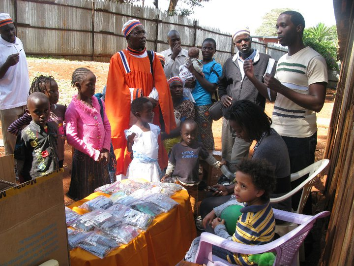 AAF Kangemi Eyeglass Distribution